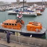 A good deck-view of the Fraser Lifeboat at the RNLI station in Dover