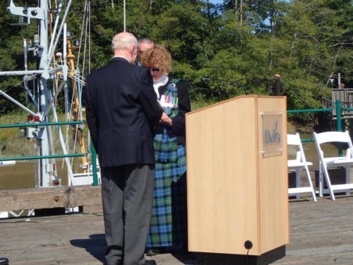 Dedication of Delta Lifeboat Aug 2017