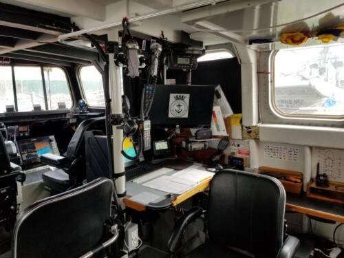Fraser - Navigation station